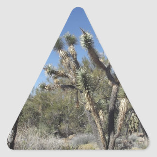 Joshua Tree Triangle Sticker