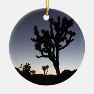Joshua Tree Twilight Christmas Ornaments