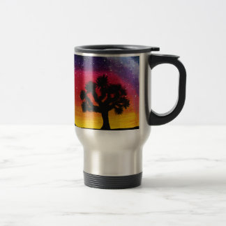 Joshua Tree Under The Milky Way - Travel Mug
