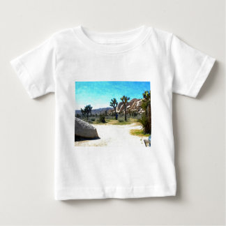 Joshua Trees and Rocks Baby T-Shirt