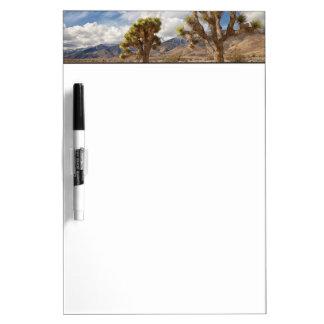 Joshua Trees in Desert Dry Erase Board