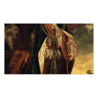 JoshuaReynolds-Portrait of Prince William Augustus Business Card Template
