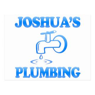 Joshua's Plumbing Postcard