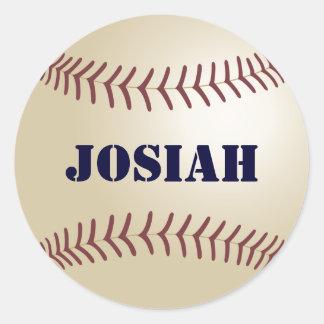 Josiah Baseball Sticker / Seal