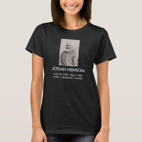 Josiah Henson T_shirt Dark