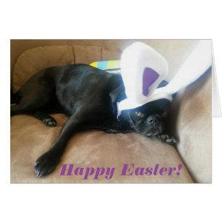 Josie bunny ears Easter card