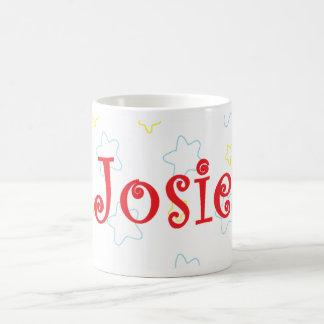 Josie Happy Stars Name Mug