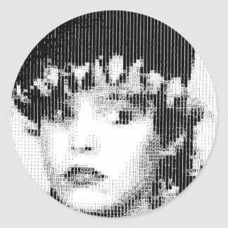 Josie Soho Round Stickers