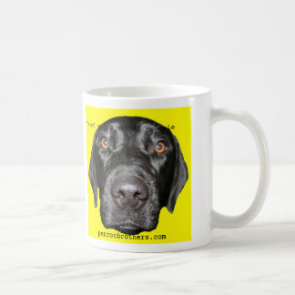 "josieyellow, ""Woof to yo mutha"" - Josie, perron... Coffee Mugs"