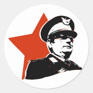 Josip Broz Tito Jugoslavija Classic Round Sticker