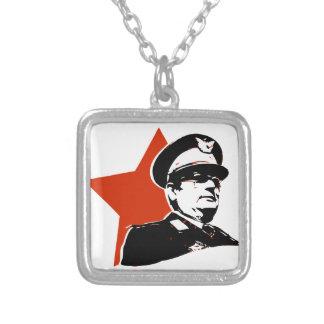 Josip Broz Tito Jugoslavija Colgante Cuadrado