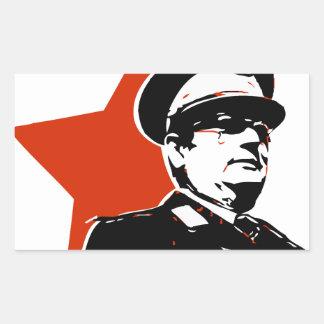 Josip Broz Tito Jugoslavija Rectangular Sticker