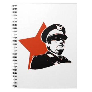 Josip Broz Tito Jugoslavija Spiral Notebook