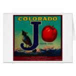 Joslyn Apple Crate Label