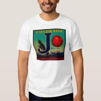 Joslyn Apple Crate Label T-shirt