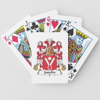 Josselin Family Crest Bicycle Playing Cards