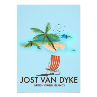 jost van dyke British Virgin Islands. Invitation