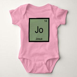 Josue  Name Chemistry Element Periodic Table Baby Bodysuit