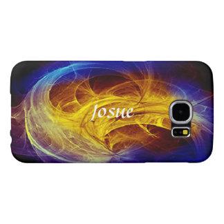 Josue Samsung Galaxy case in Colorful