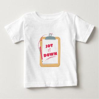 Jot It Down Baby T-Shirt