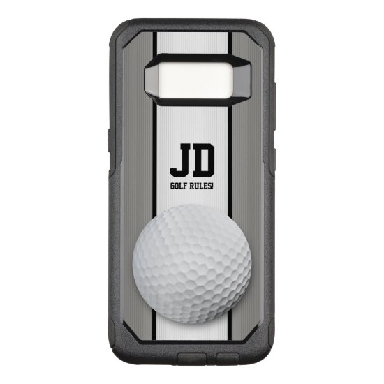 Jour Name | Golf Cool Gifts OtterBox Commuter Samsung Galaxy S8 Case