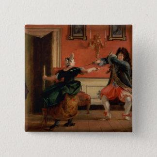 Jourdain Fences his Maid Button