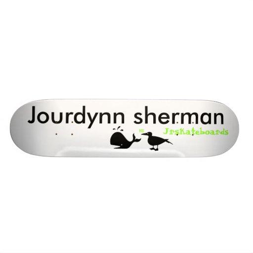 jourdynn sherman bird twester skateboard decks