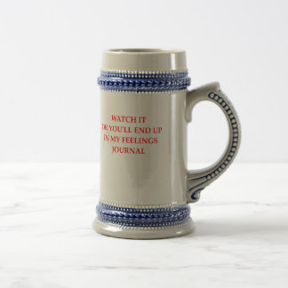 JOURNAL BEER STEIN