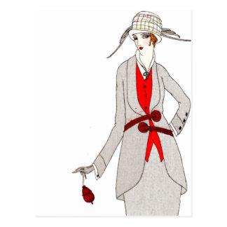 Journal des Dames et des Modes 1 Postcard