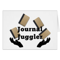 Journal Juggler Card