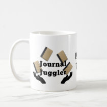 Journal Juggler Coffee Mug