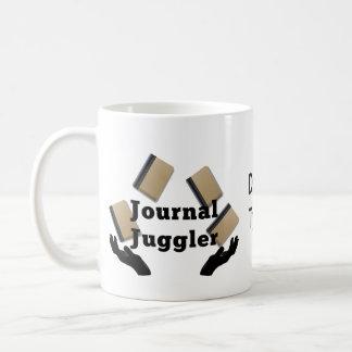 Journal Juggler Coffee Mug