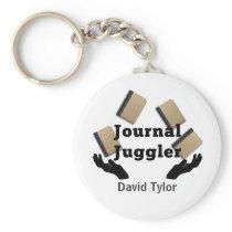 Journal Juggler Keychain