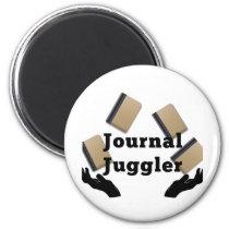 Journal Juggler Magnet