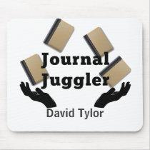 Journal Juggler Mouse Pad