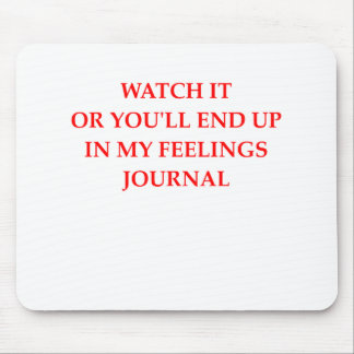 JOURNAL MOUSE PAD