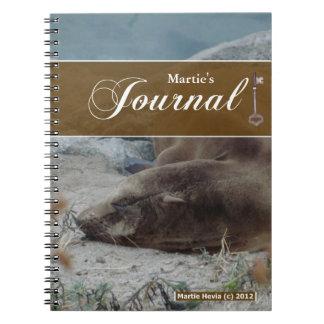 Journal Notebook - Sea Lion