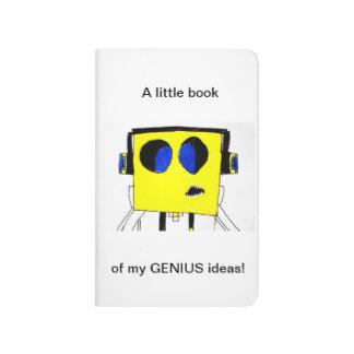 Journal of Big Genius Ideas - Awesome Boy Cartoon