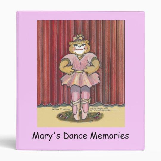 Journal of Dance Memories Binder