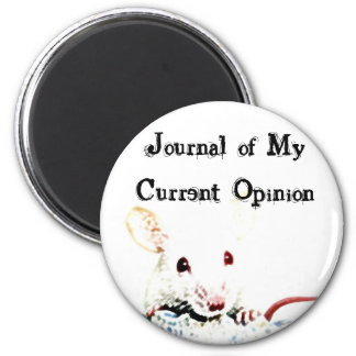 Journal of My Current Opinion Fridge Magnets