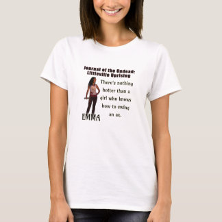 Journal of the Undead: EMMA Tshirt (Womens)