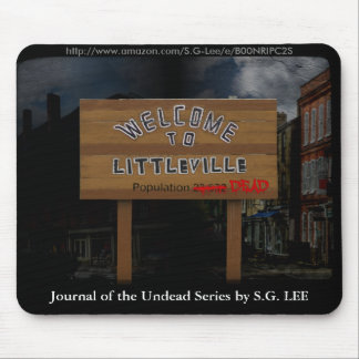 Journal of the Undead: Population Dead Mouse Pad
