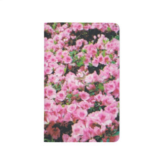 Journal with Pink Azaleas
