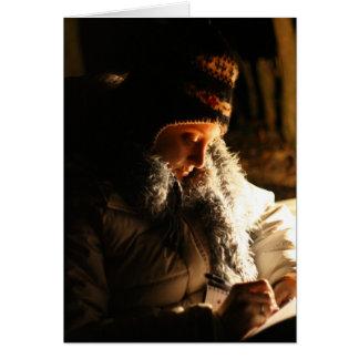 Journaling By Firelight Card