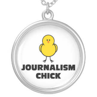 Journalism Chick Necklace
