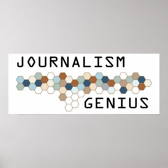 Journalism Genius Poster
