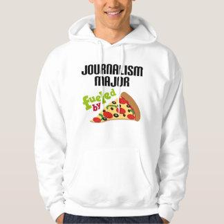 Journalism Major Gift (Pizza) Hoodie