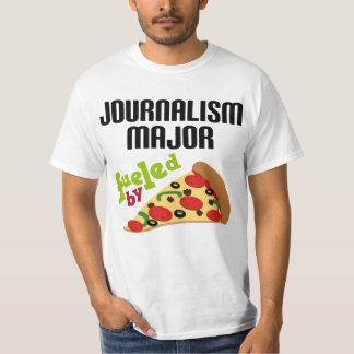 Journalism Major Gift (Pizza) T-Shirt