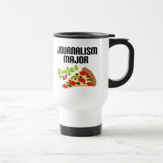 Journalism Major Gift (Pizza) Travel Mug