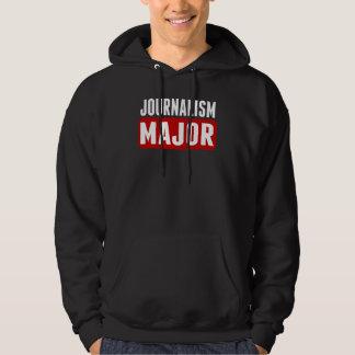 Journalism Major Hooded Pullover